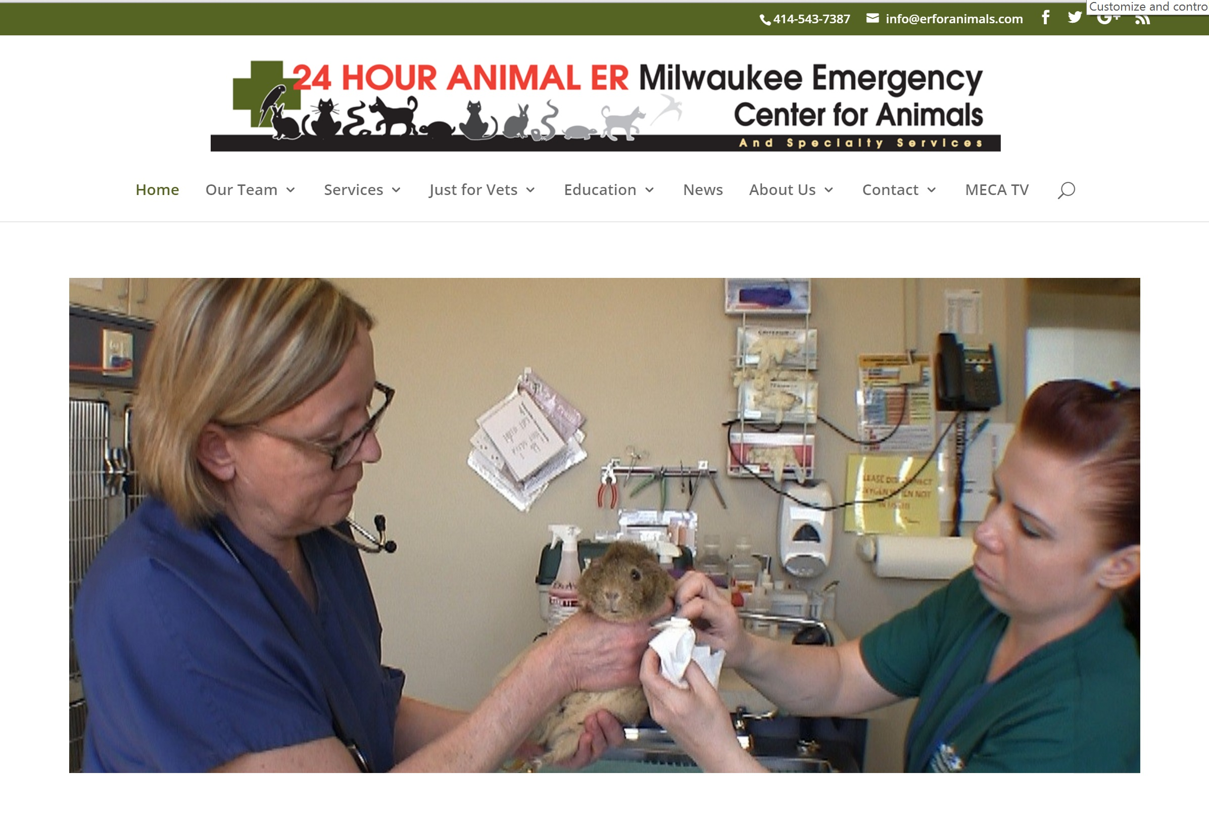 Milwaukee ER for Animals
