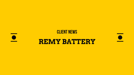 REMY BATTERY THRIVES ON SOCIAL RESPONSIBILITY