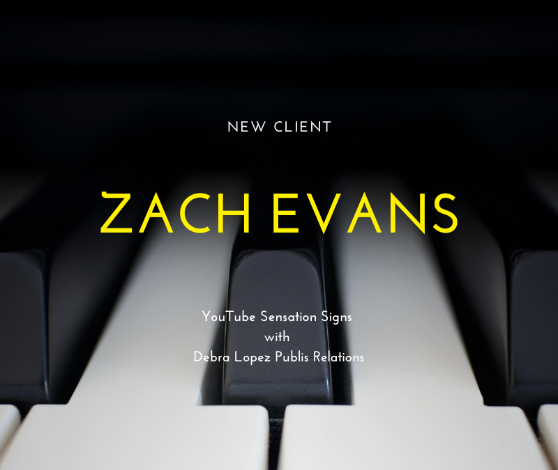 Zach Evans Piano YouTube Sensation Signs With DLPR
